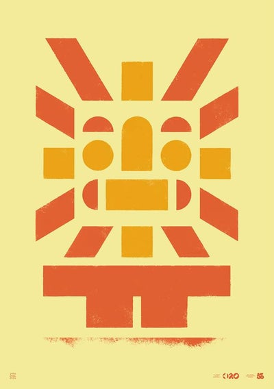 Image of Büro Destruct - Tribler Sun (Poster)