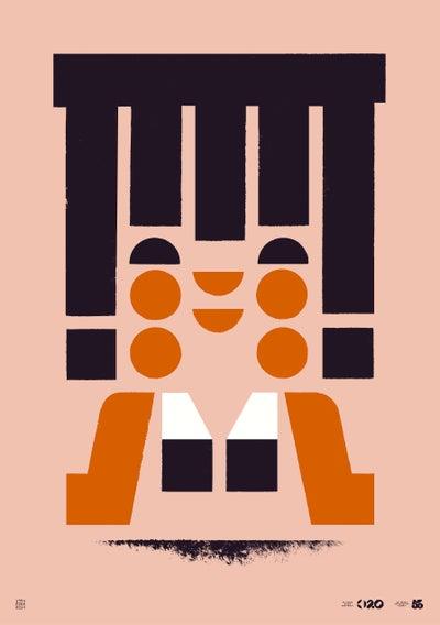Image of Büro Destruct - Tribler Amiga (Poster)
