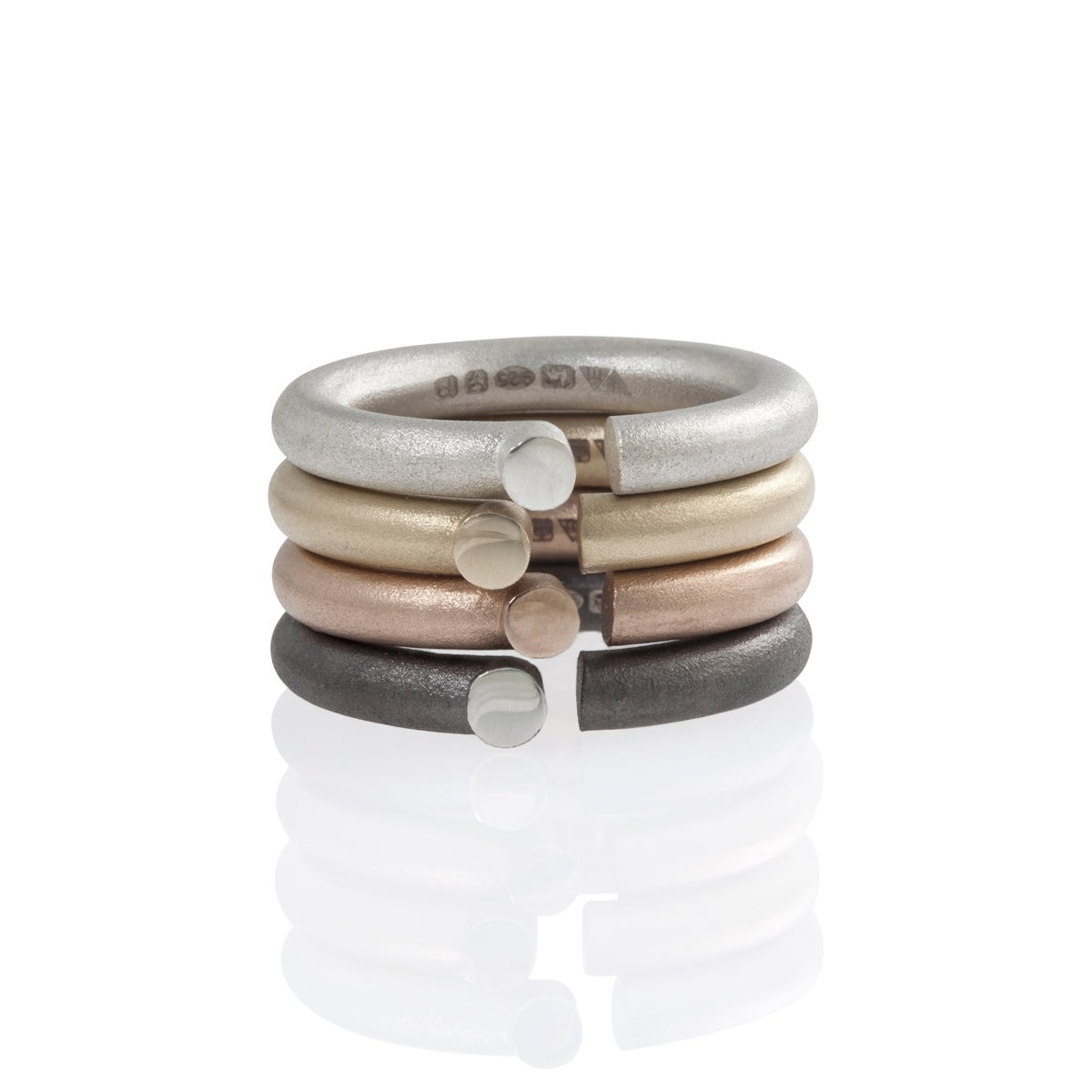 Image of Ring 'Parody silver'