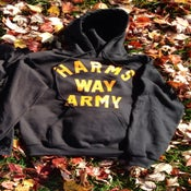 Image of Harm's Way Army Fall Hoodie