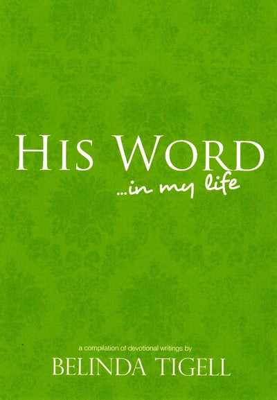 Image of His Word in My Life