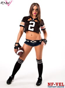 Image of Velvet Sky Cleveland Browns Fantasy Football 18x24 poster