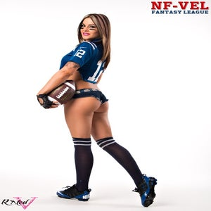 Image of Velvet Sky Indianapolis Colts Fantasy Football 18x24 poster
