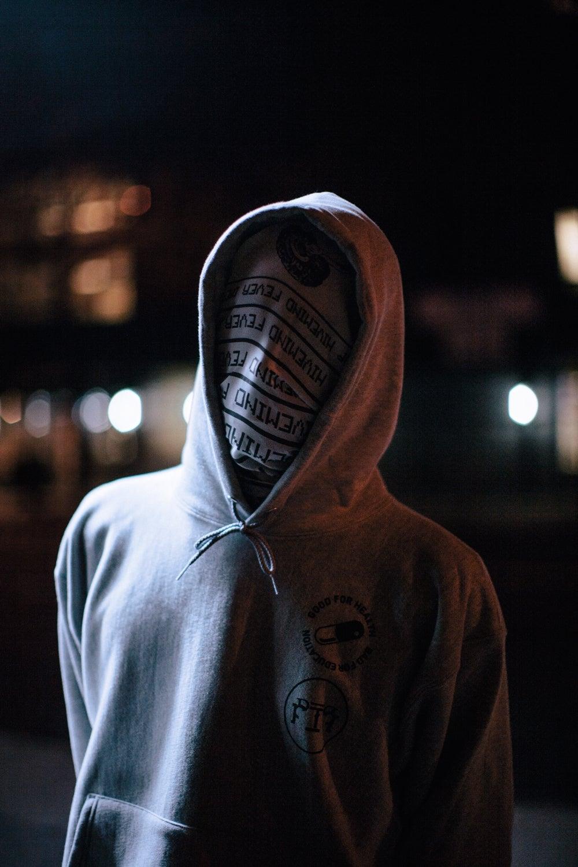 Image of Pill Hood (Grey)