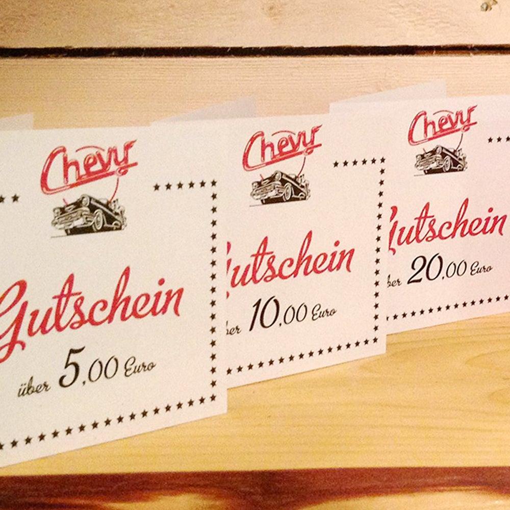 Image of Chevy Gutschein 5.00 EUR