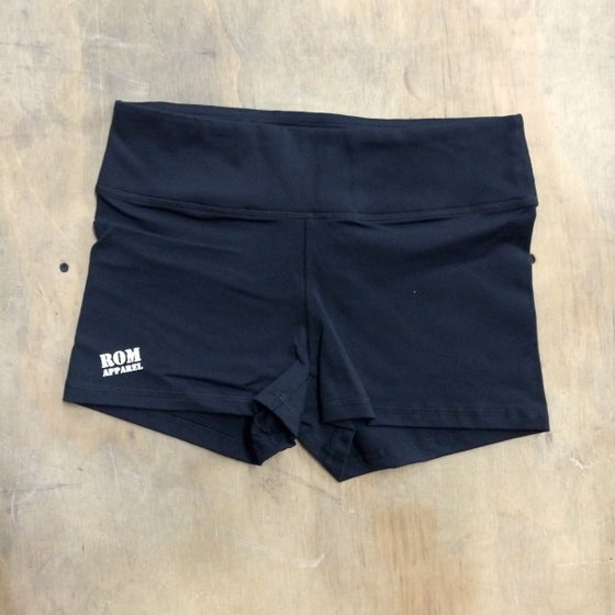 Image of PR APPROVED Athletic Booty Short Black