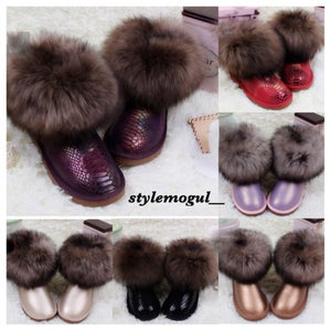 Image of Dazzling Fur Boots