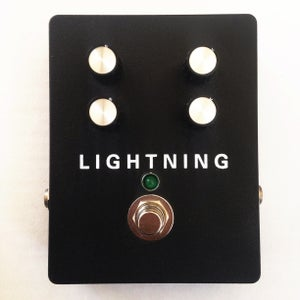 Image of Custom Made Lightning Unstable Modulation Pedal