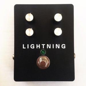 Image of Custom Made Lightning Unstable Modulation Pedal