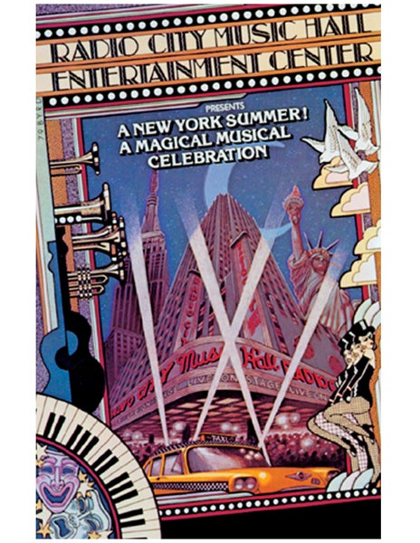 "Image of ""RADIO CITY RESTORATION"" MUSIC HALL MANAGEMENT - 1980"