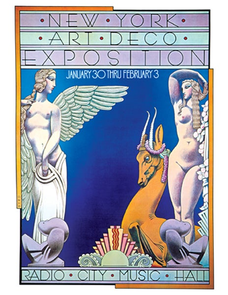 "Image of ""NY ART DECO EXPOSITION"" - 1974"