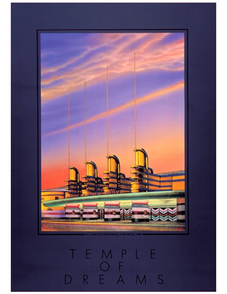"Image of ""TEMPLE OF DREAMS"" AMERICAN CINEMATHEQUE - 1985"