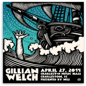 Image of Gillian Welch Poster (Throw Me a Rope)