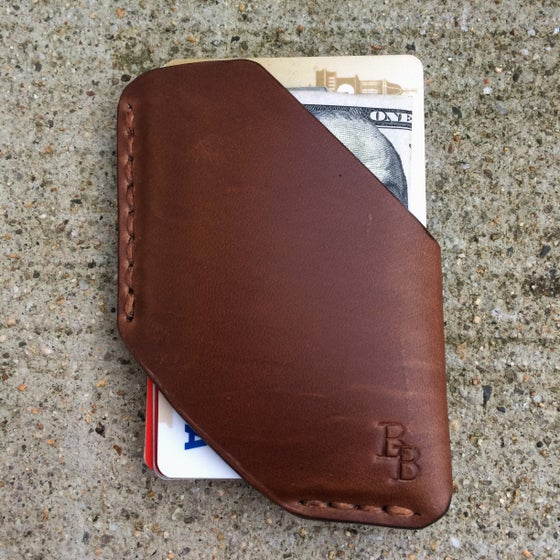"""Image of """"Card & Cash"""" Holsters Natural Chromexcel"""