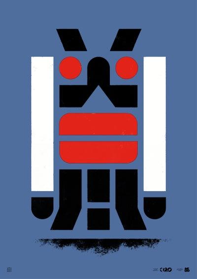 Image of Büro Destruct - Tribler Blade (Poster)
