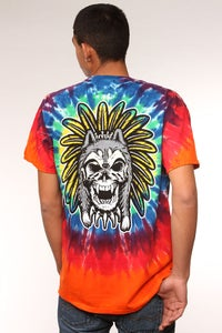 Image of Wolf Spirit / Shirt - Tie Dye