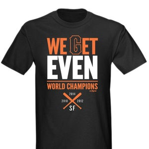 Image of We Get Even - World Champions