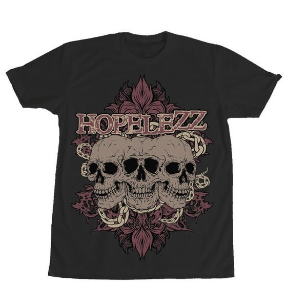 Image of T-Shirt - Skulls (black) - SALE 30%