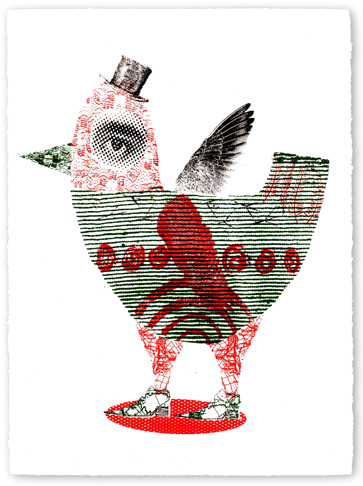 "Image of Screen Print - ""Twit Twoo"""