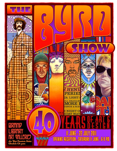 "Image of ""THE BYRD SHOW: 40 Years of Art & Design"" - BRAND GALLERIES - 2011"