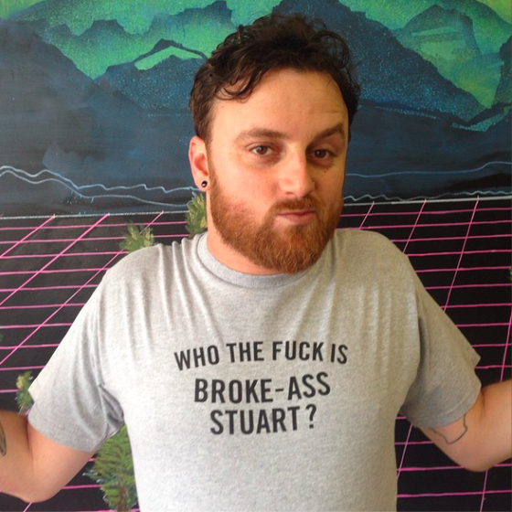 Image of Who the Fuck is Broke-Ass Stuart Shirt