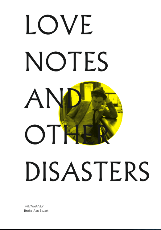 Image of Love Notes and Other Disasters Zine