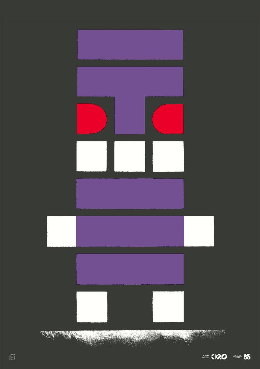 Image of Büro Destruct - Tribler Mummy (Poster)