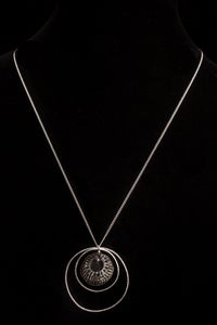 Image of jett black necklace