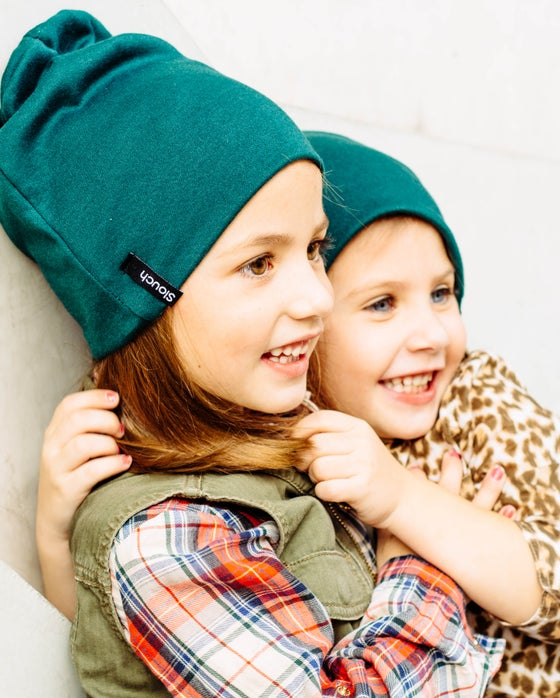 Image of Hunter Green Slouch Beanie