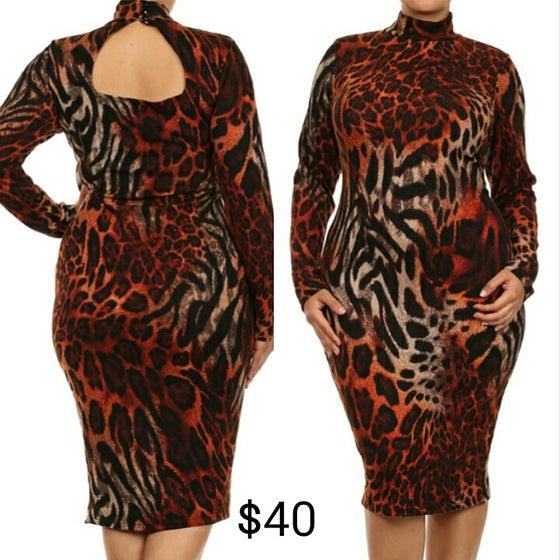 Image of Rustic Leopard Dress