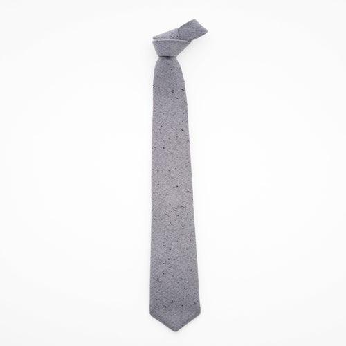 Image of light fog / gray wool tie