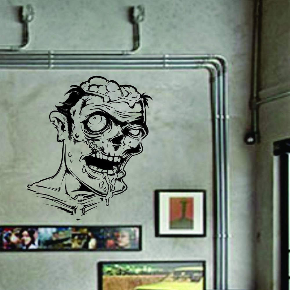 zombie wall murals images zombie wall mural decal