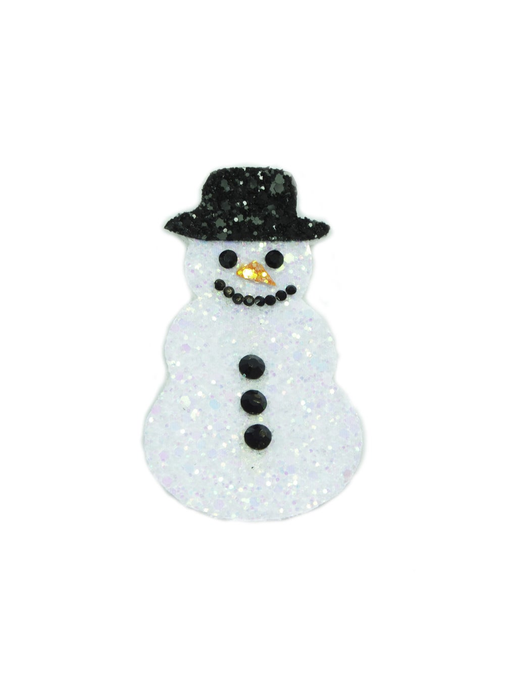 Image of Diamante Snowman Hair Clip