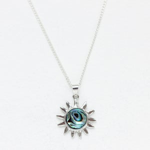 Image of Abalone Sun Necklace