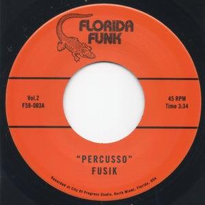 """Image of Percusso / Groove In C - 7"""" Vinyl"""