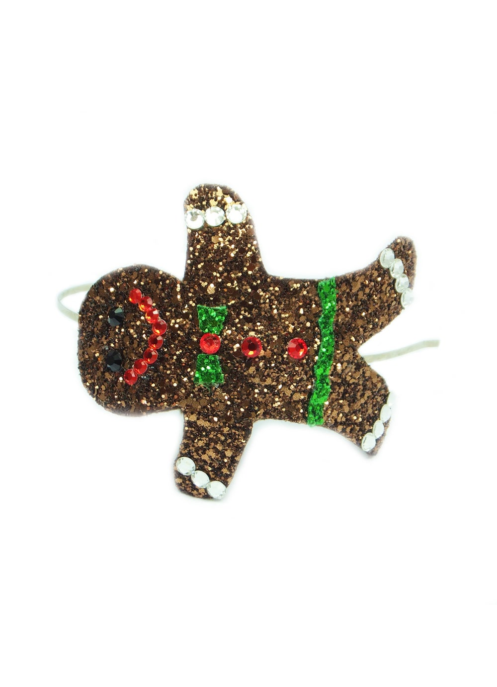 Image of Diamante Gingerbread Man Headband