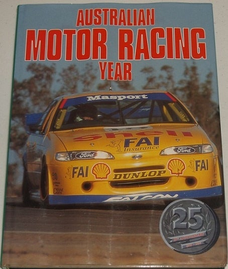 Image of Australian Motor Racing Yearbook # 25. RARE. The LAST of the SERIES.