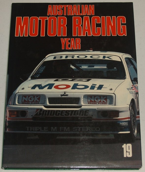 Image of Australian Motor Racing Yearbook # 19. Reviews 1989.