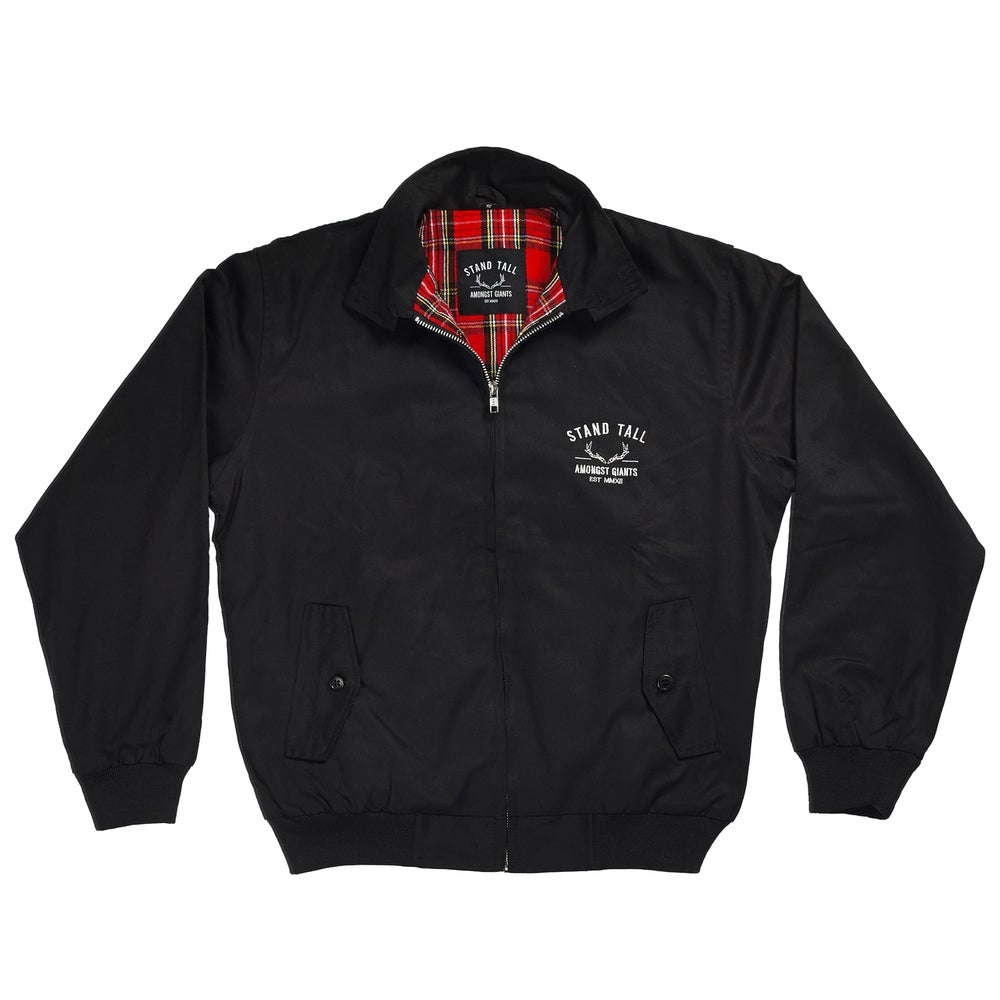 Image of HARRINGTON JACKET // BLACK //