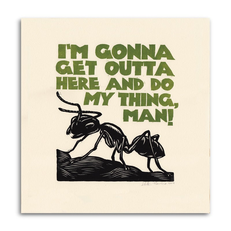 Image of Good Luck, Little Ant!