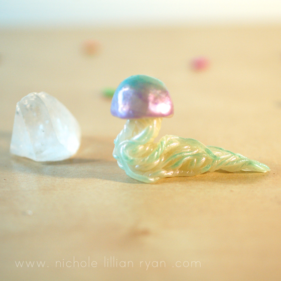 Image of Jellyfish Animal Totem Figurine