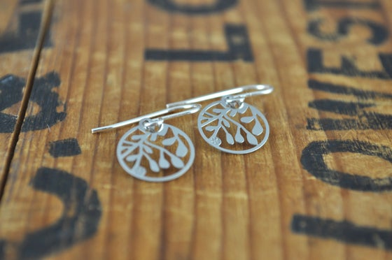 Image of Vine Earrings small