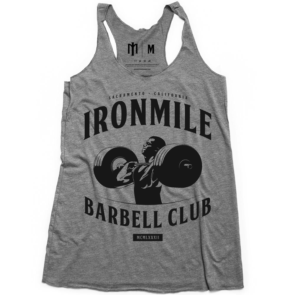 Image of W - BARBELL CLUB