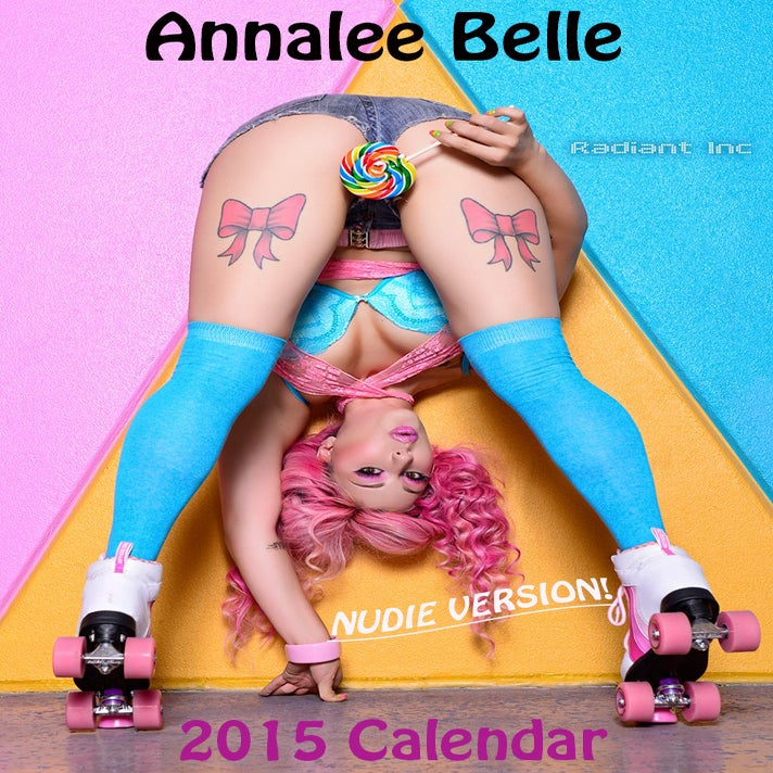 Image of Annalee Belle 2015 Calendar (Topless/Nude): annaleebelle.bigcartel.com/product/8x10-side-nude