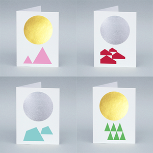 Image of Winterland card set
