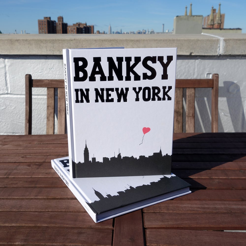 Image of *SIGNED* Banksy in New York Hardcover