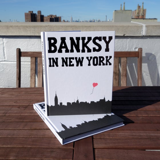 Image of *NEW* Banksy in New York Hardcover