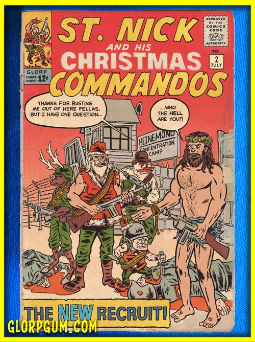 Image of St. Nick and His Christmas Commandos Holiday Cards