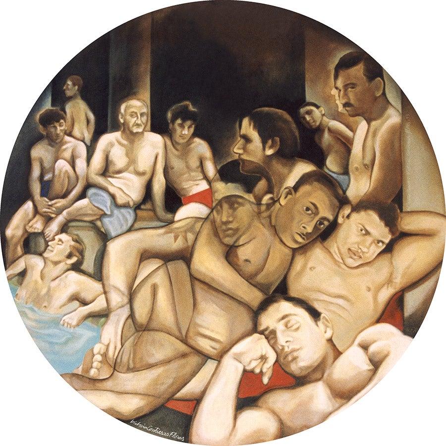 Image of Le Bain Turc (about Ingres)