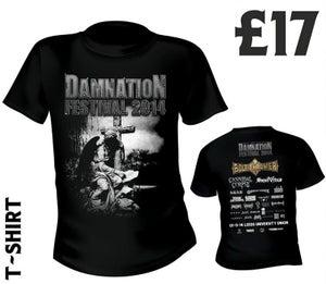 Image of Damnation 2014 Tshirt